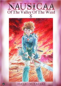 nausicaa volume 6 cover