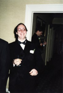 Me at prom, c. 2001.