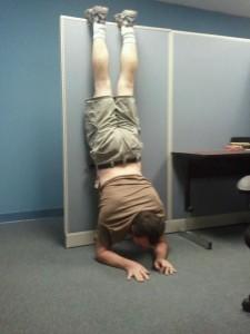 Batmanning. c. 2011. I was ~200 lbs.